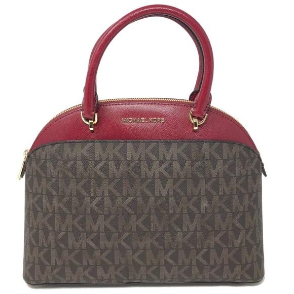 3e6b76111f66 Michael Kors Bags | Emmy Large Cindy Dome Satchel | Poshmark